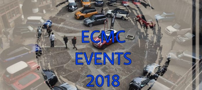 2018 Events Calendar