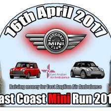 East Coast Mini Club Charity Run - end point - Southwold