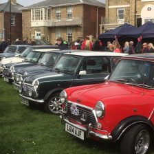East Coast Mini Club Charity Run – end point – Southwold 1
