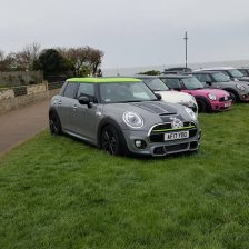 East Coast Mini Club Charity Run – end point – Southwold 5