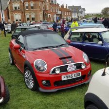 East Coast Mini Club Charity Run – end point – Southwold 8