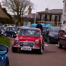 East Coast Mini Club Charity Run – end point – Southwold 14