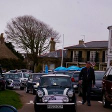 East Coast Mini Club Charity Run – end point – Southwold 15