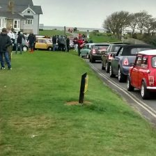 East Coast Mini Club Charity Run – end point – Southwold 16