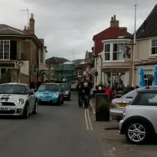 East Coast Mini Club Charity Run – end point – Southwold 18