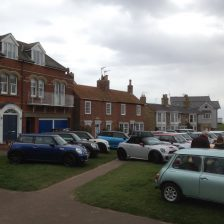 East Coast Mini Club Charity Run – end point – Southwold 21