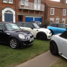 East Coast Mini Club Charity Run – end point – Southwold 22